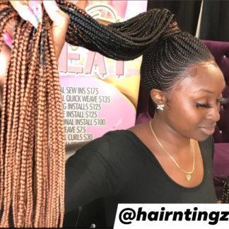 Corn Rows Braided Wigs